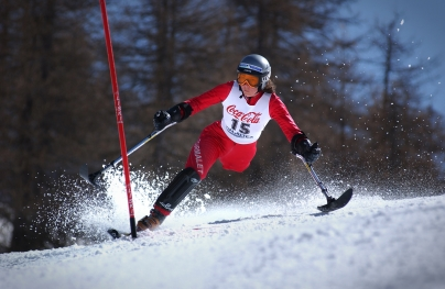 Paralympic Skiier
